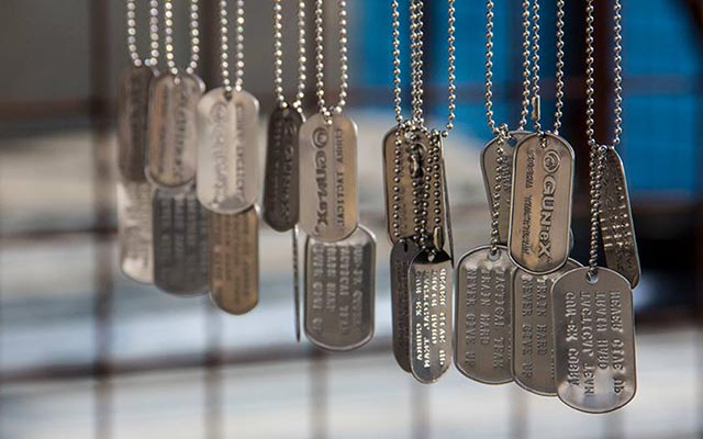 Tactical Edition Dog Tags