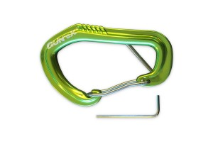 Lockable Wire Carabiner (with Allen Key)