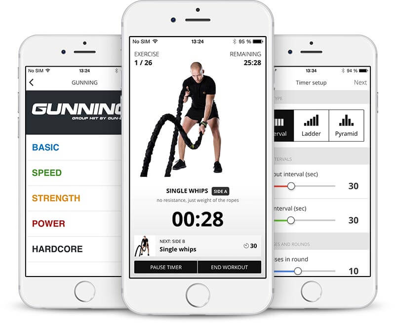Mobile app for trainers