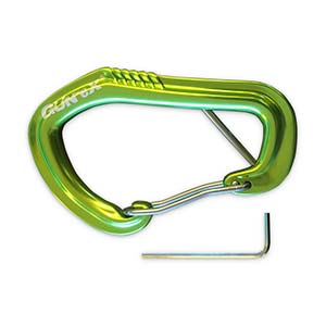 Lockable carabiner